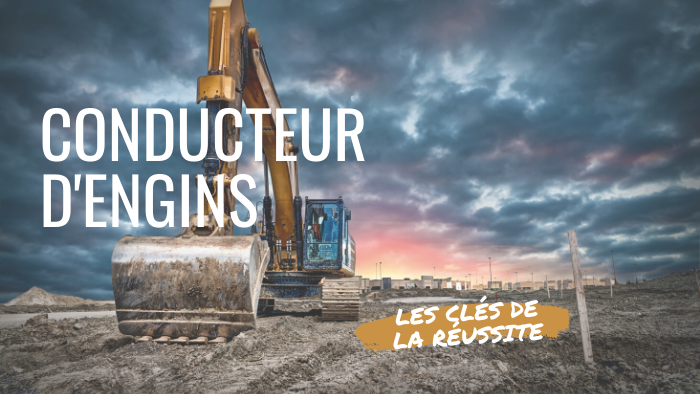 Métier de conducteur d'engins