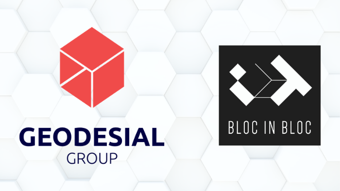 BLOC IN BLOC rejoint GEODESIAL GROUP